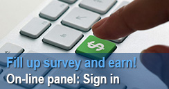 Online panel: Sign in