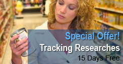 Special offer: Tracking Researches